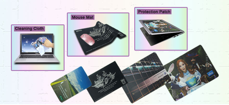 Microfiber Mouse Mat Cleaning Cloth